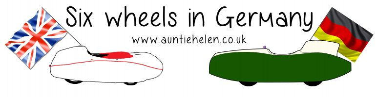 "Auntie Helen ""Six Wheels in Germany"" British Velonaut in Germany"