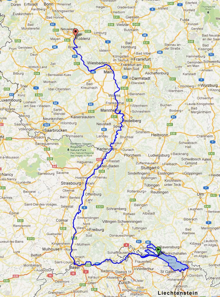 karta koblenz Konstanz to Koblenz map | Auntie Helen karta koblenz